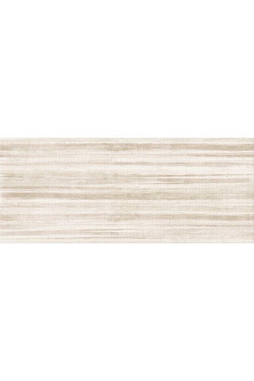 Stenska ploščica Linen (25 x 60 cm, rjava, dekor črte, mat)