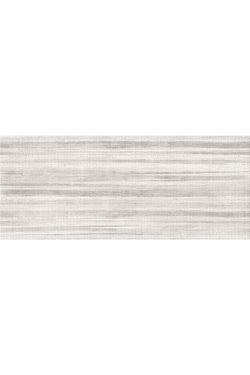 Stenska ploščica Linen (25 x 60 cm, siva, dekor črte, mat)