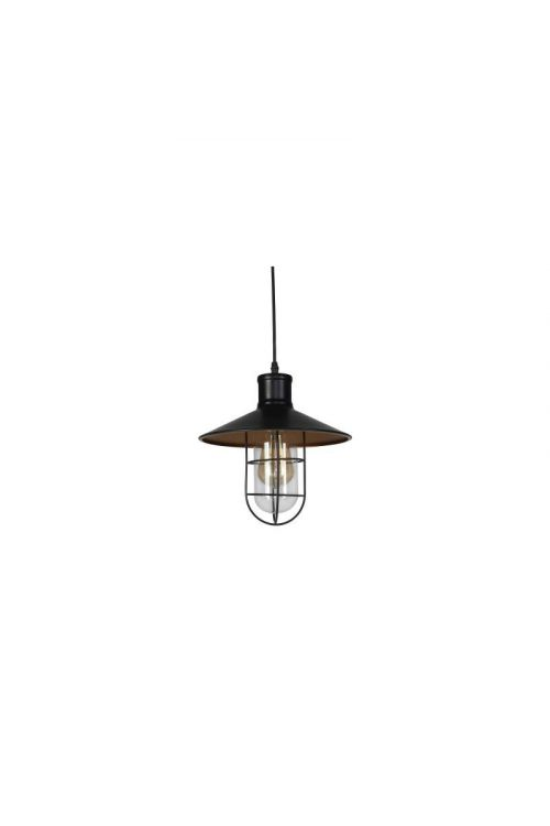 Viseča svetilka Ferotehna Attic (60 W, premer: 27 cm, višina: 130 cm, E27, črna)