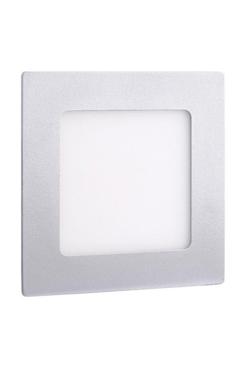 VGRADNI LED PANEL SLIM (12 W, 900 lm, 4.000 K, d 17 x š 17 x v 1,4 cm, IP20, srebrn okvir)