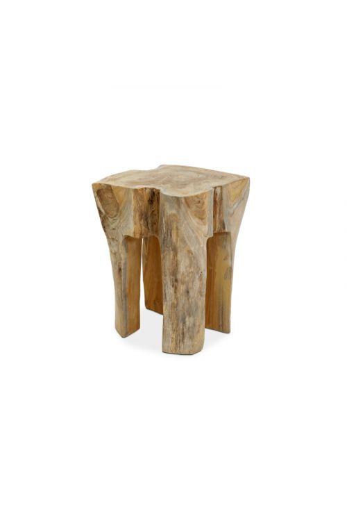 Vrtni stol Sunfun (30 x 30 x 40 cm, tikov les, natur)