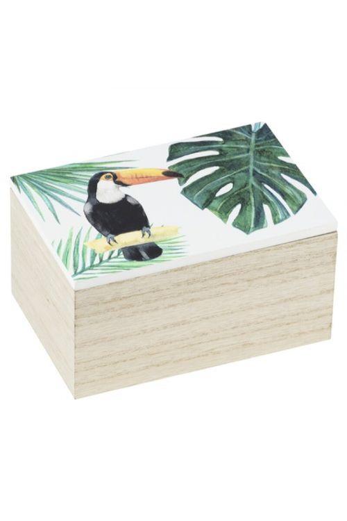 Škatla za shranjevanje Wenko Tucan S (10 x 15 x 8 cm, MDF)