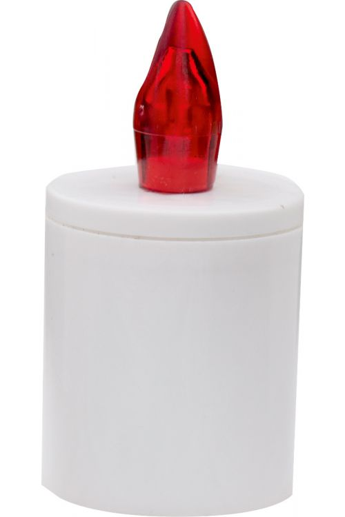 Elektronski modul za sveče (90 dni, rdeč plamen)