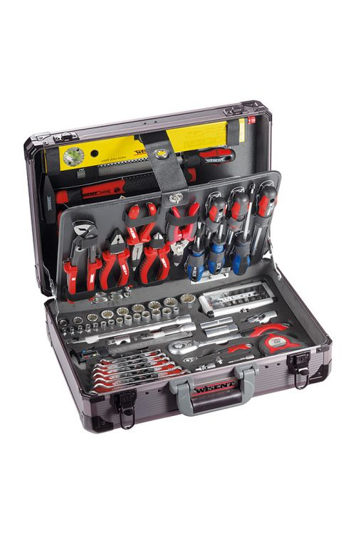 Kovček z orodjem Wisent Professional (160-delni, ½ + ¼″)