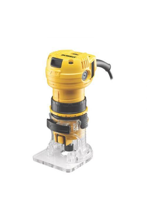 Rezkalnik za laminate DeWALT 590 W (590 W, globina rezkanja: 22 mm, 16.000–34.000 vrt./min)
