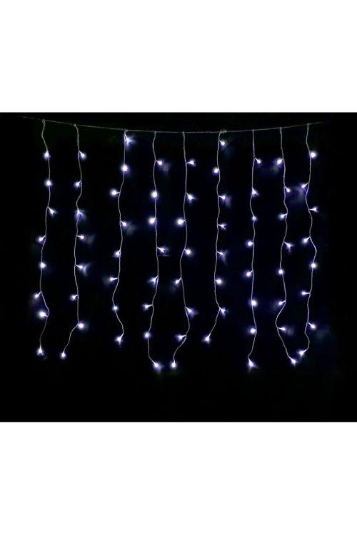 Okrasna zavesa LED 80 (bela)