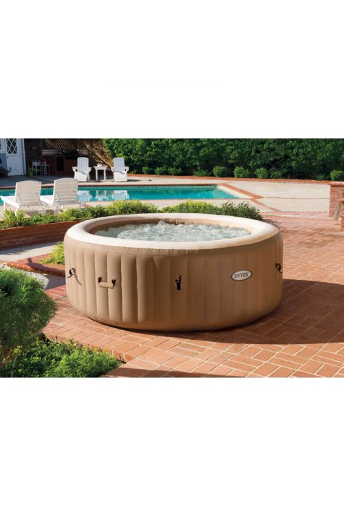 Masažni bazen Intex Pure Spa Bubble (196 x 71 cm, 795 l, za 4 osebe)