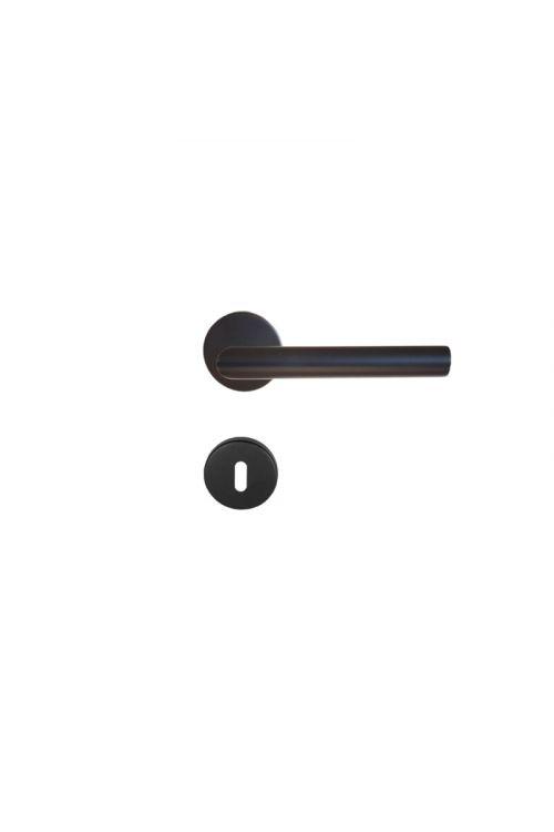 Kljuka za vrata Vovko Roxy, črna (ključ, nerjavno jeklo, maks. debelina vrat 44 mm)