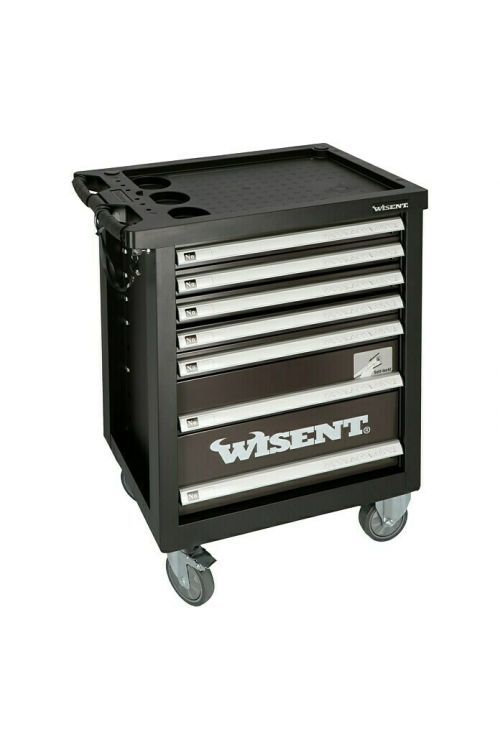 Delovni voziček z orodjem Wisent WW 5000 (69-delni set orodja, 7 predalov)