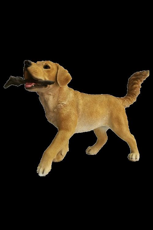 Vrtna figura labradorec (42 x 60 x 23 cm, polirezin)
