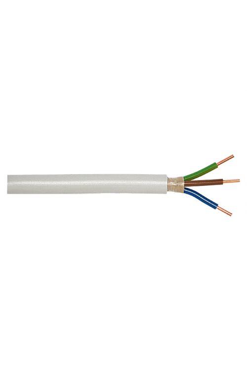 Električna napeljava v vlažnih prostorih (NYM-J3G 2,5, 50 m, siva)