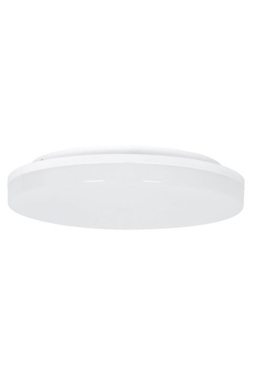 LED STROPNA SVETILKA S SENZORJEM (15 W, 1.250 lm, 4.000 K, IP54, premer 22 cm , senzor: 4-8 m, bela)