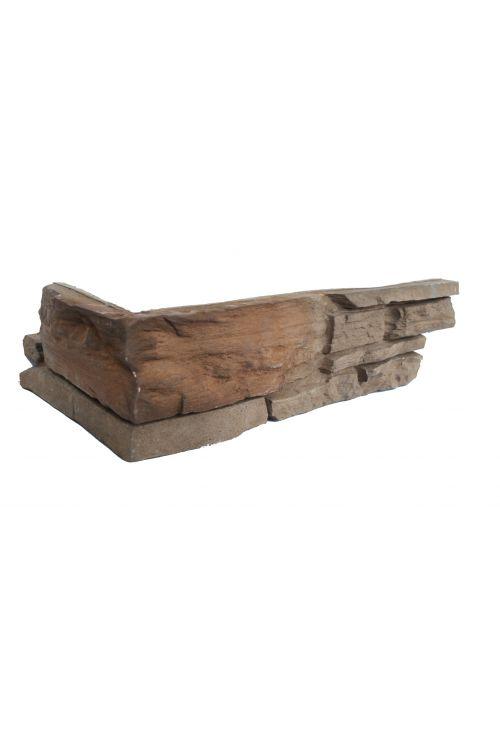 Kotna ploščica Fox Brown (10,5 + 19,5) x 11,2 cm