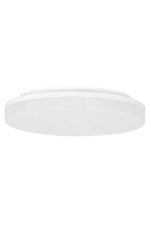 LED STROPNA SVETILKA S SENZORJEM (24 W, 2.050 lm, 4.000 K, IP54, premer 33 cm , senzor: 4-8 m, bela)