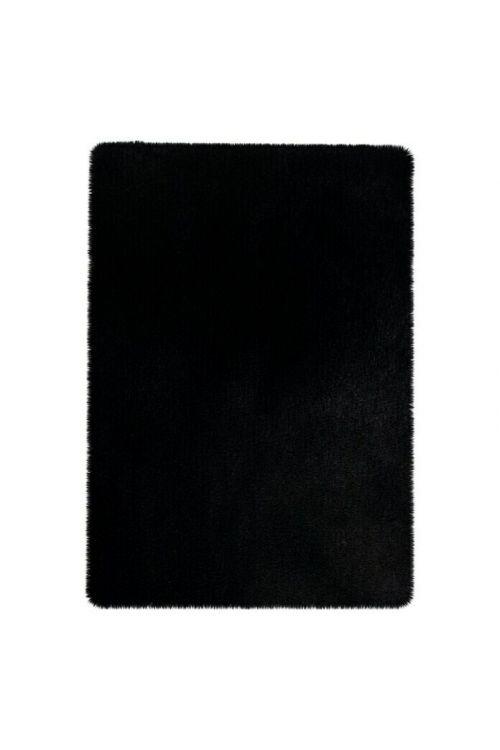 Kopalniška preproga Happy (barva: črna, 40 x 60 cm, 100% poliester)