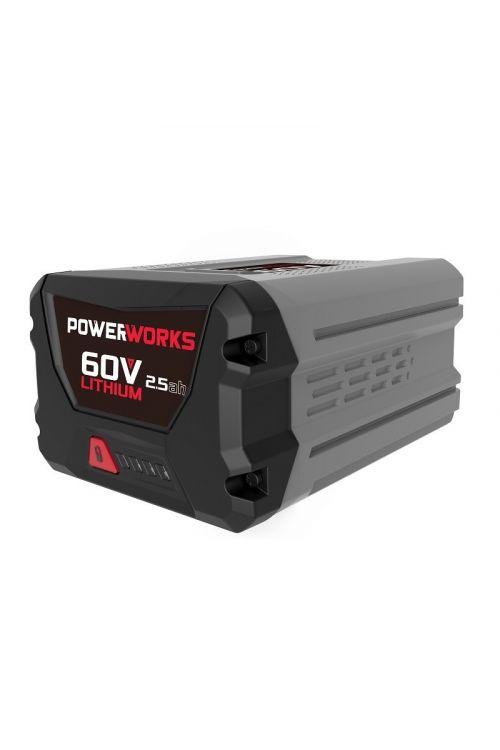 Baterija POWERWORKS P60B25 (60 V, 2,5 Ah)