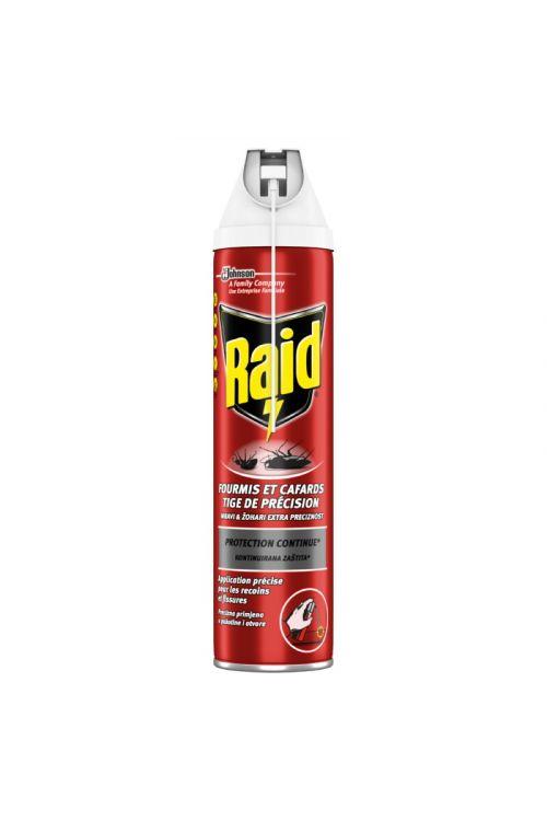 Sprej za zatiranje gomazečih insektov Raid  (400 ml, za zatiranje mravelj in ščurkov)