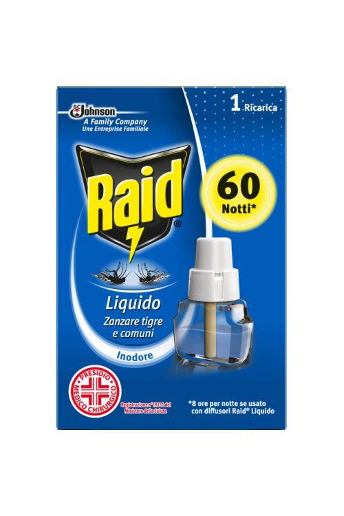 Polnilo za električni aparat Raid (36 ml, s tekočim insekticidom)