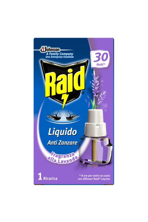 Polnilo za električni aparat Raid (21 ml, s tekočim insekticidom, sivka)