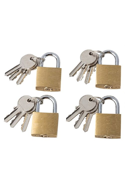 Komplet ključavnic obešank Stabilit (4 kosi, širina: 30 mm, jeklo)
