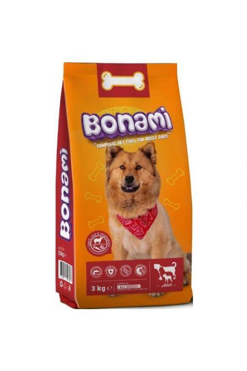 Briketi za pse Bonami (jagnjetina, riž in zelenjava, 3 kg)