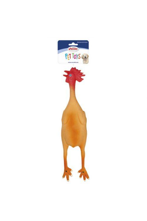 Igrača za pse kokoš (dolžina 45 cm, lateks)