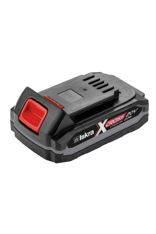 Li-Ionska akumulatorska baterija ISKRA BX-20V-2.0Ah X-CROSS (20 V, 3-stopenjski prikaz stanja napolnjenosti)