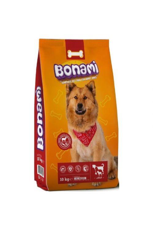 Briketi za pse Bonami (10 kg, jagnjetina, riž in zelenjava)
