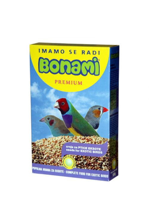 Hrana za ptice eksote Bonami (500 g)