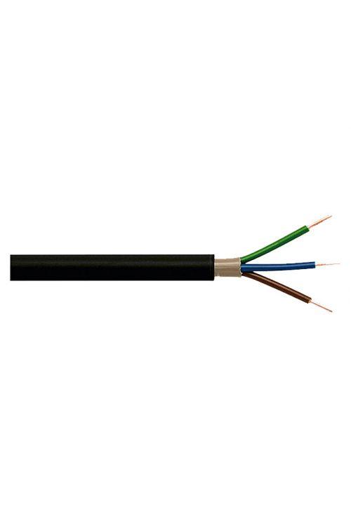 Zemeljski kabel (NYY-J 3 x 1,5, 25 m, črn)