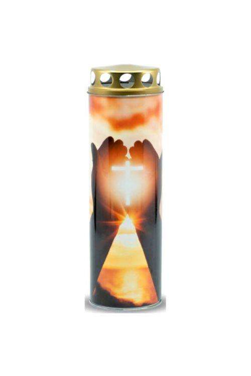 Papirnata ekološka sveča EKOVITA (križ, M)