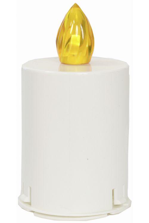 Elektronski vložek za svečo (čas delovanja: 60 dni, barva plamena: rumena)