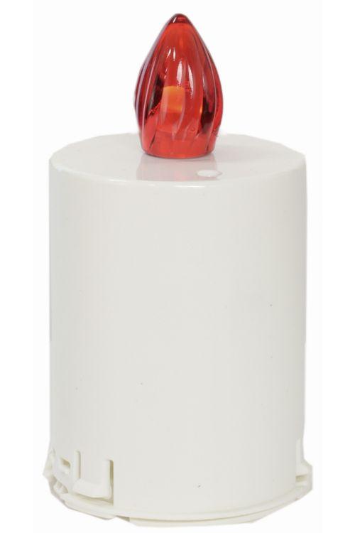 Elektronski vložek za svečo (čas delovanja: 60 dni, barva plamena: rdeča)