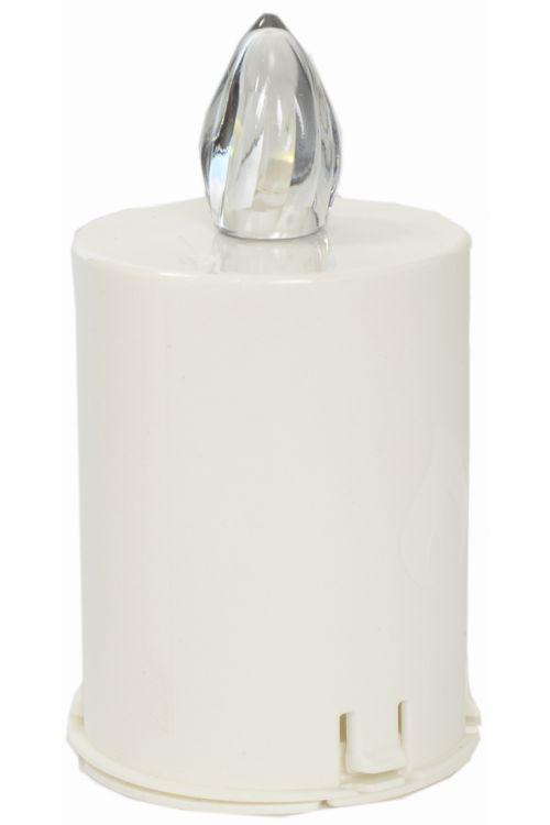 Elektronski vložek za svečo (čas delovanja: 60 dni, barva plamena: bela)