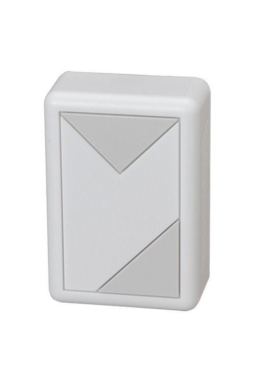 Hišni zvonec Heidemann Prisma (d 3,8 x š 8 x v 11,8 cm, 82 dB, bel, umetna masa)