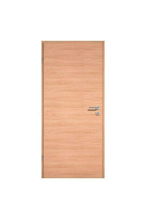 Sobna vrata GetaDoor Lamineo GLN 42Q (39 x 750 x 2000 mm, svetli hrast, leva)