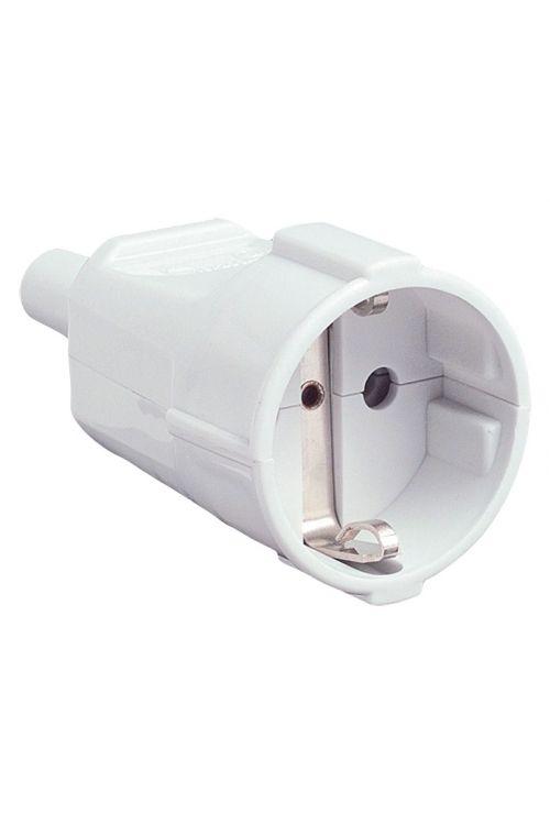 Varnostna spojka UniTec (16 A, IP20, bela, pregibna zaščita)