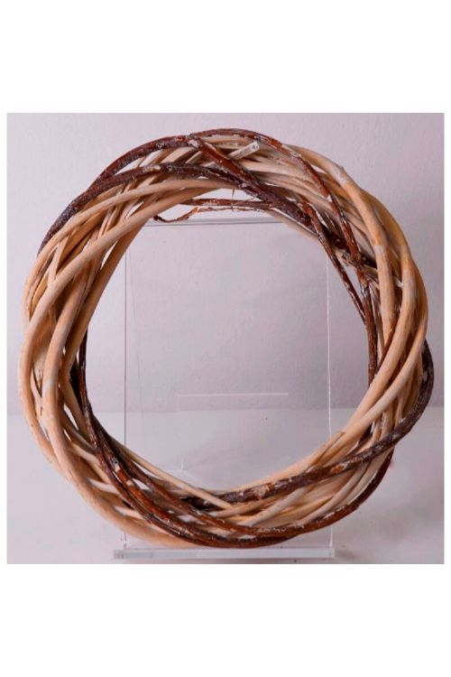 Okrasni venec iz protja (premer: 30 cm)