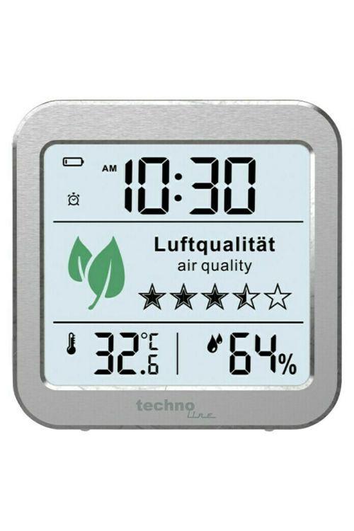 Monitor za kakovost zraka Technoline WL1020 (82 x 25 x 82 mm, digitalni prikaz)