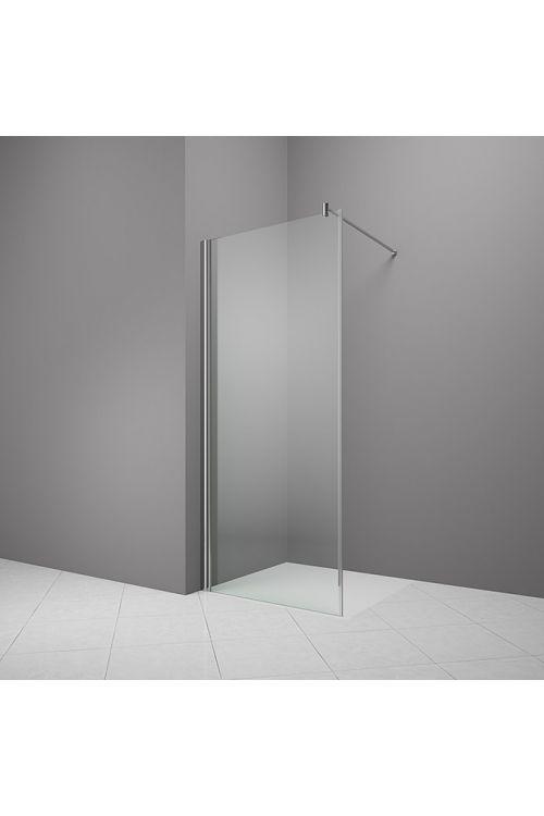 Tuš stena Camargue Vario S8 (100 x 195 cm, srebrni profili, steklo: 6 mm, premaz WonderClean)