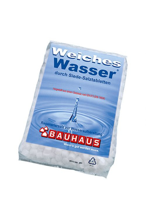 Tabletirana sol za mehčanje vode (25 kg, enostavno doziranje)