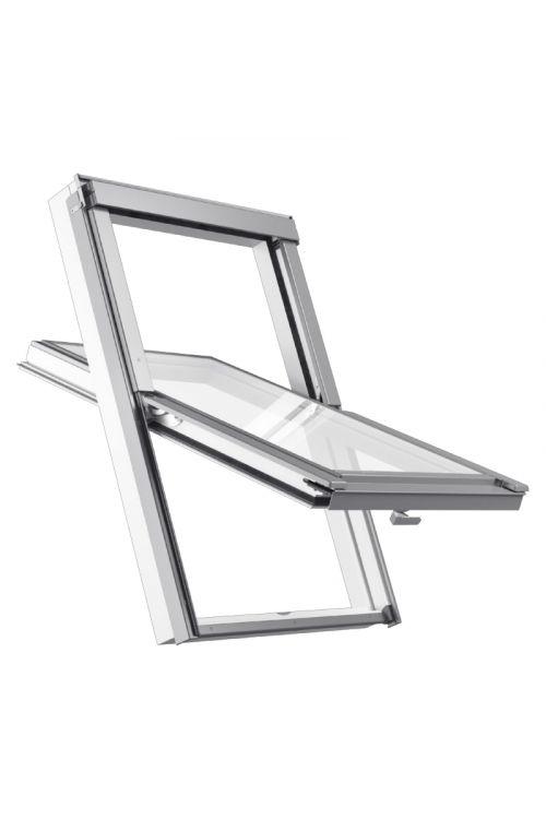 Strešno okno Solid Elements Pro (55 x 98 cm, belo-siva)