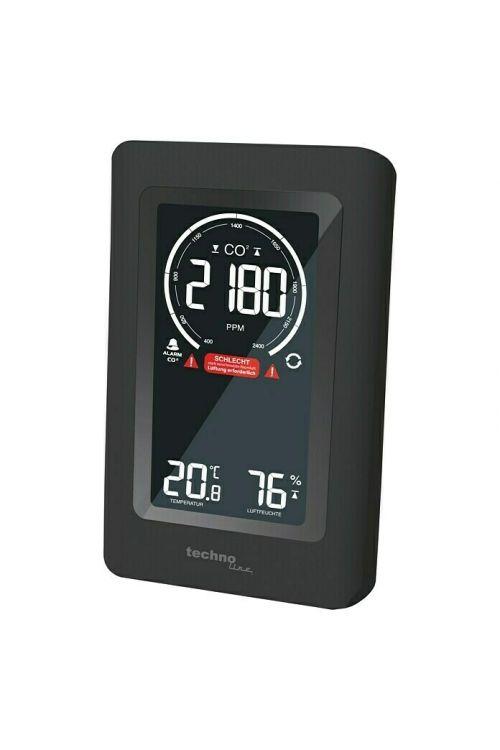 Monitor za kakovost zraka Technoline CO2 WL1030 (50 x 94 x 145 mm, digitalni prikaz)