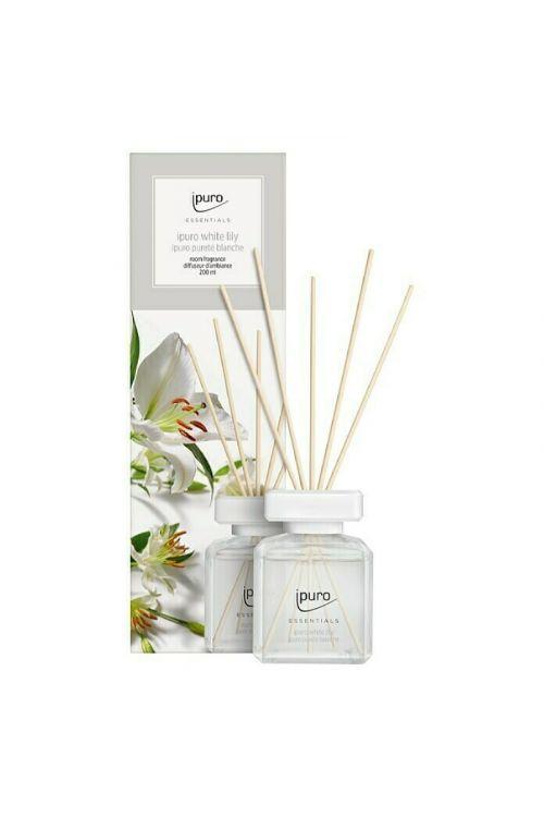 Dišava za prostor Ipuro ESSENTIALS White Lily (200 ml)