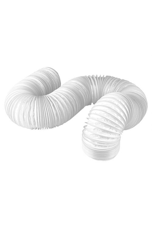 Cev iz PVC Air-Circle (premer: 125 mm, dolžina: 2 m, maks. pretok zraka: 600 m³/h)