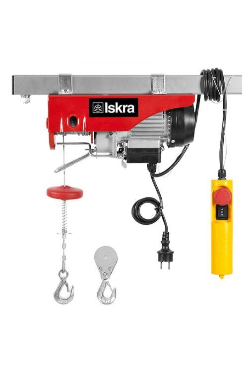 Električno dvigalo z žično vrvjo Iskra EV-125-250 (500 W, nosilnost: 125/250 kg)