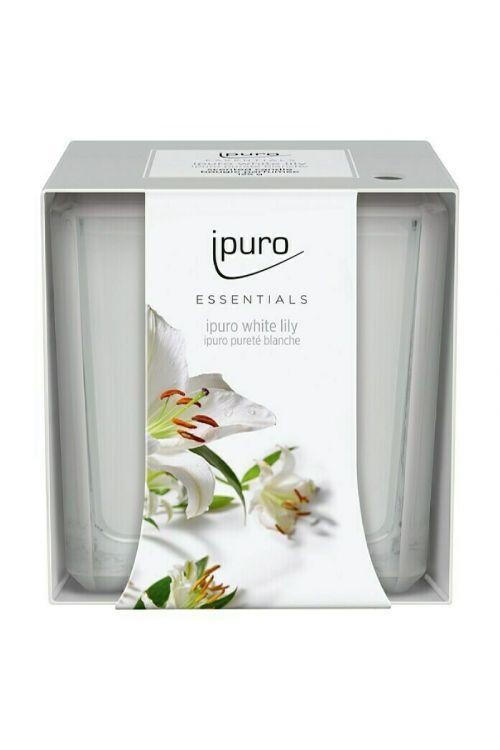 Dišeča sveča Ipuro ESSENTIALS White Lily (125 g)