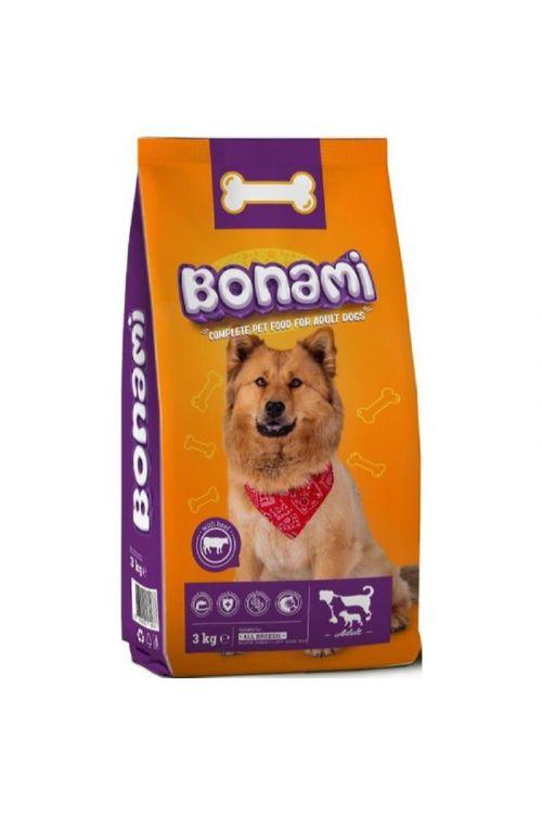Briketi za pse Bonami (3 kg, govedina)