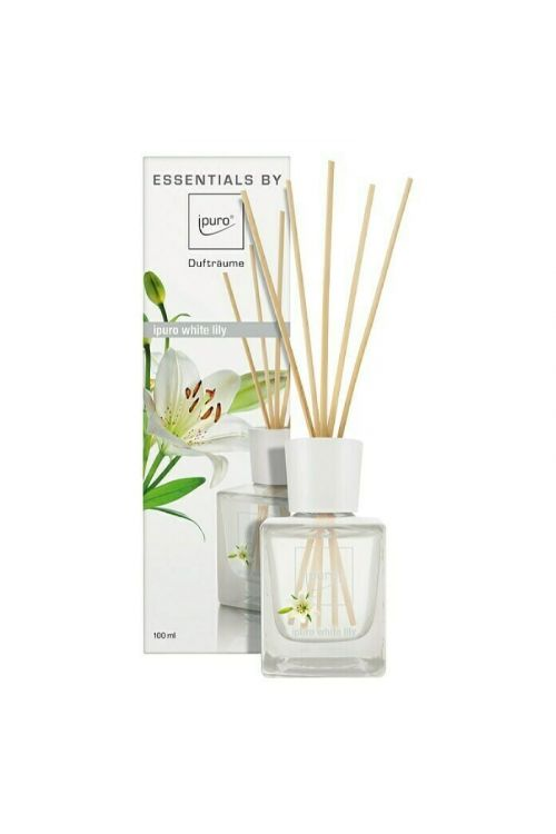 Dišava za prostor Ipuro ESSENTIALS White Lily (100 ml)
