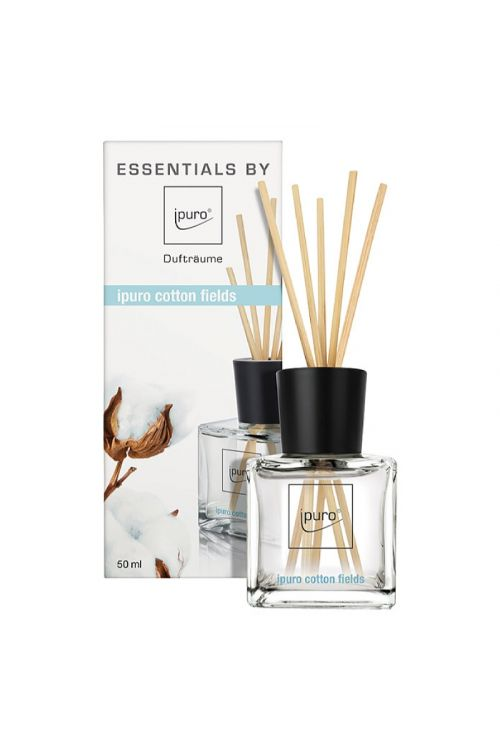 Dišava za prostor Ipuro ESSENTIALS Cotton Fields (50 ml)